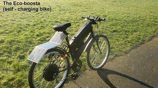 The Self-charging electric bike -  part 2