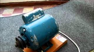 Crompton Parkinson Capacitor Start  Electric Motor