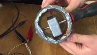 Temple University--ECE 2313--Homemade AC Generator