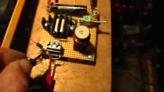 Joule Thief: Measuring the Voltage Output of a JT Using a Capacitor and Diode