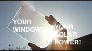 Ubiquitous Energy ClearView Power™ Solar Window Technology