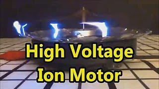 Homemade Ion Motor Cool Science Experiment!