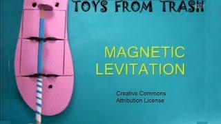 MAGNETIC LEVITATION PENCIL - ENGLISH