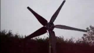 My Homemade DIY Wind Energy Windmill generator