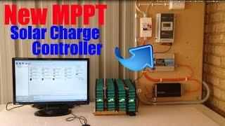 DIY Tesla Powerwall | New MPPT Solar Charge Controller | Update 18