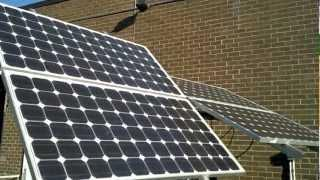 How to install solar panels with micro inverters.