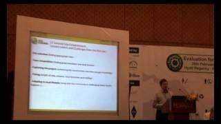 Evaluation Conclave 2013: DAY 2: Climate Change Mitigation M&E: REDD+ MRV systems