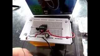 Miniature transformer - Joule thief circuit