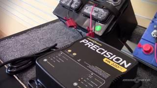 Precision Chargers: Equalization Mode for Flooded Lead-Acid Batteries