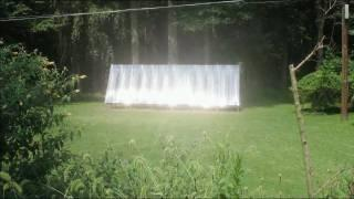 Big, 24' X 8' Solar Collector Using PEX Tubing - Step by Step How to Build