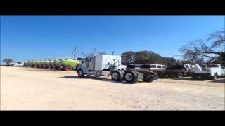 2007 Freightliner C112 Glider semi truck for sale | no-reserve Internet auction March 30, 2016