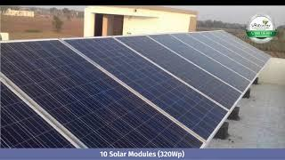 3.2 kw Residential Rooftop Solar Panel Power system Ahmedabad