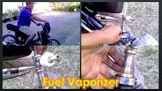 FUEL VAPORIZER IMPROVEMENTS ( MOTOR FUNCIONANDO COM VAPOR DE GASOLINA ))