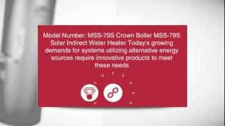 Crown Boiler MSS-79S Solar Indirect Water Heater - ingramswaterandair.com