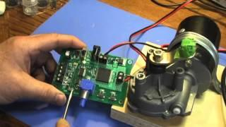 Demo of PWM Motor Controller With Record Function