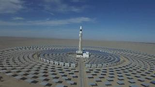 Dunhuang Concentrated Solar Power Station敦煌光热电站