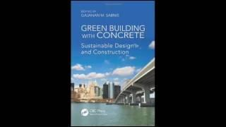 Download Green Building with Concrete Sustainable Design and Construction Pdf