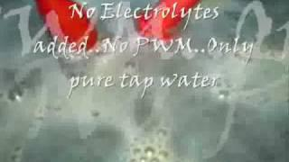 Low voltage electrolysis - secret revealed
