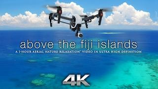 1 HOUR of 4K FIJI DRONE FOOTAGE Nature Relaxation™ Aerial Chillout Video w/ Music DJI Inspire1 X5