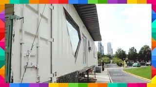 Off Grid Solar Powered Shipping Container Home