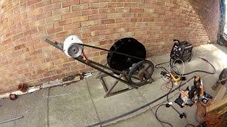 Diy Micro hydro water wheel generator
