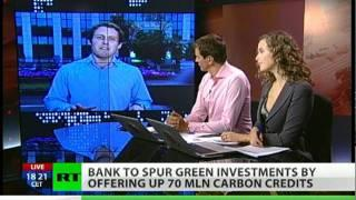 Sberbank tempts Russian enterprises to invest in green tech with 70-million carbon credits.