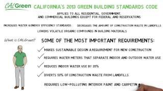 CALGreen Green Building Program