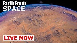 Earth Day 2018 - See Earth From Space Live | Nasa ISS LIVE FEED & ISS Tracker | Live chat