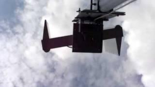 Fast Run2. selbstgebautes Edelstahl Windrad/ Windmühle mit Darrieus Rotor und Savonius Rotor