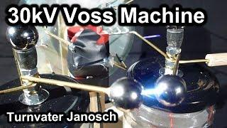 Homemade high voltage Voss generator