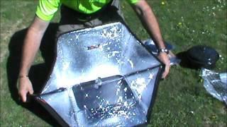 NZ Survivor Sunflair Solar Oven