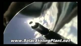 Build DIY Solar Stirling Generators = Solar Stirling Power = Freedom