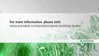 Autodesk 360: Green Building Studio