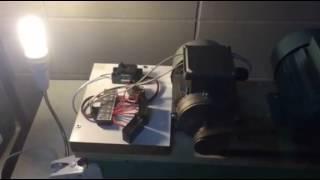 เครื่องปั่นไฟ จากมอเตอร์ 3 Phase ( Induction Generator )