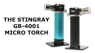 The Stingray Butane Refillable Micro Torch - Blazer Products