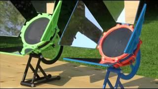 3d printed Solar Stirling Engine
