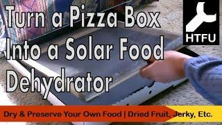 DIY Solar Dehydrator in a Box  How to Make a Low Cost Food Dehydrator & Homemade Dried Fruit