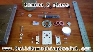 Lamina 2 Plans - Stirling Like engine plans