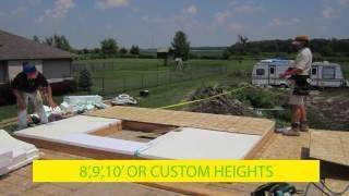 EZ SIPS Low Cost Green Home Construction-DIY Custom Structural Insulated Panels on Site In Minutes!