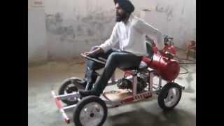Compressed air vehicle (Mechanical Engineering Project, BIS College Moga, Punjab))