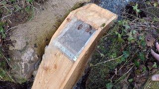 DIY Micro hydro part 6 The Intake