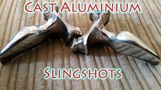 How to Cast Aluminium Slingshots Using Sand - Part 1
