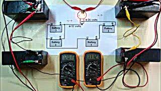 Nikola Tesla 12-Volt 4-Battery charger circuit impossible? DIY