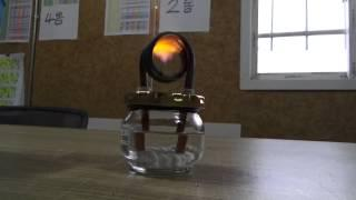 쨈통 알콜버너 Make a Wick to Coil Pipe (alcohol stove)  jung9ri