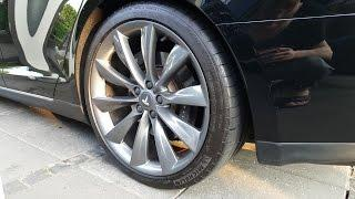 "How You Should Clean Your 21"" Tesla Turbine Wheels"