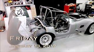 EVTV Friday Show - January 13, 2017.  Using Tesla Battery Modules