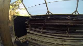 building a solar kiln 2
