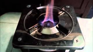 Combustion Test of Kalindra pellet in UB/Prime stove