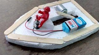How to Make Electric Boat at home - Easy Way