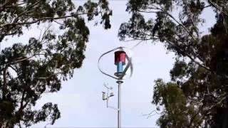 MagLev Vertical Axis Wind Turbine Kinglake